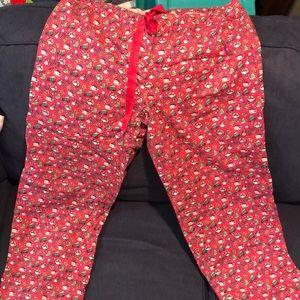 Vineyard vines pajama pants women's medium